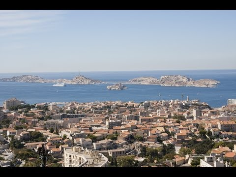 Marseille bus and city walk 2013 HD. France.