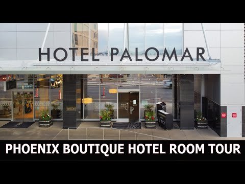 KIMPTON HOTEL PALOMAR PHOENIX - BOUTIQUE HOTEL ROOM TOUR