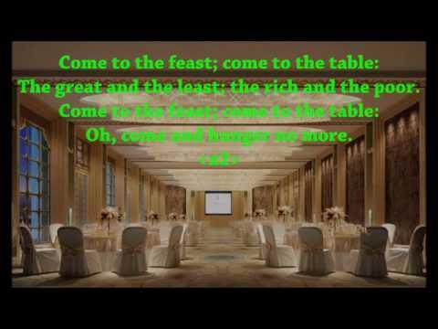 Come To The Feast {with lyrics} - //Jeff Lawson, Sandra McCracken\\ ++The Gospel Coalition++