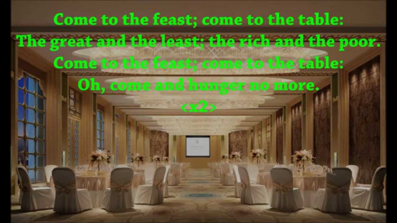 We Come to Your Feast - WLLC Music Home Page
