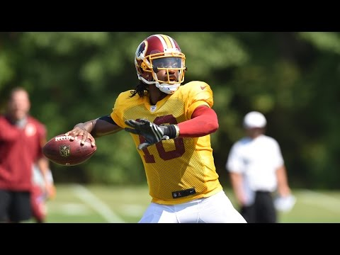QB Robert Griffin III Press Conference: 8/27/15