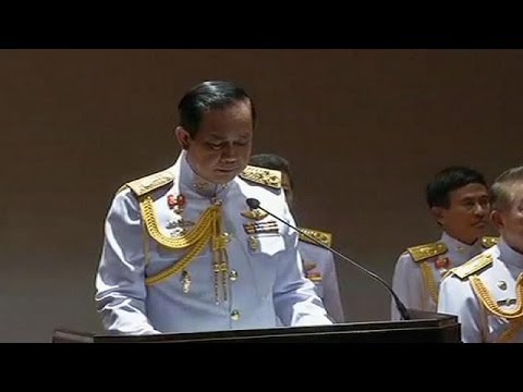 Thailand: King endorses leader of military coup
