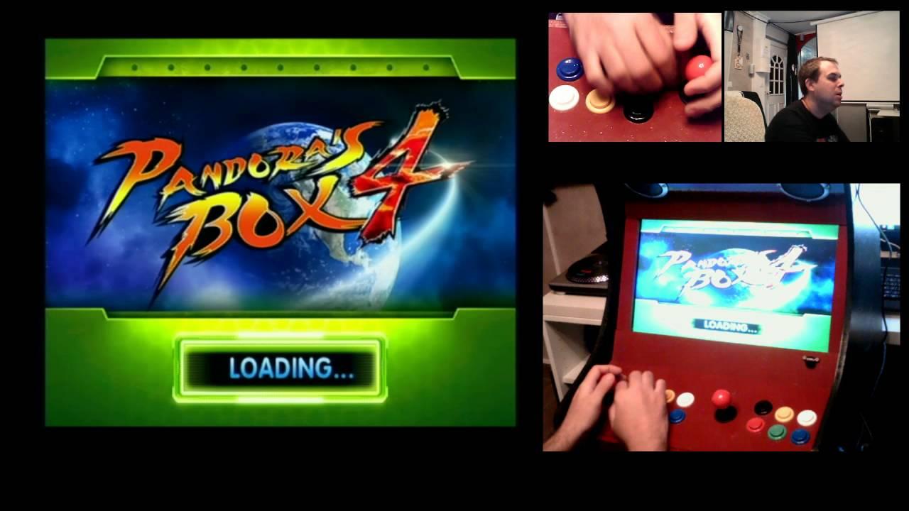 borne arcade pandora box 4