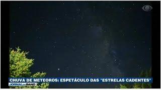 Chuva de Meteoros: O Espetáculo das Estrelas Cadentes
