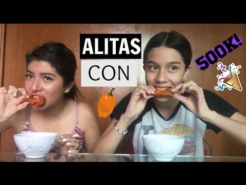 Comimos Alitas con habanero :)