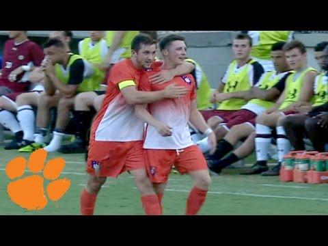Clemson Soccer's Aaron Jones Scores Game Winner vs. South Carolina
