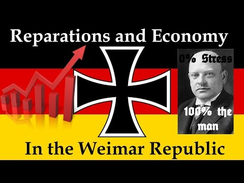 The Weimar Republic - How did it Pay the Reparations?
