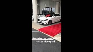 Devonta Freeman Buys Cars for Mom & Sister