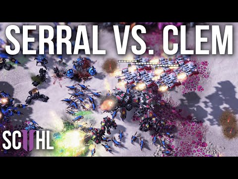 The Greatest Starcraft 2 Players: Serral vs. Clem