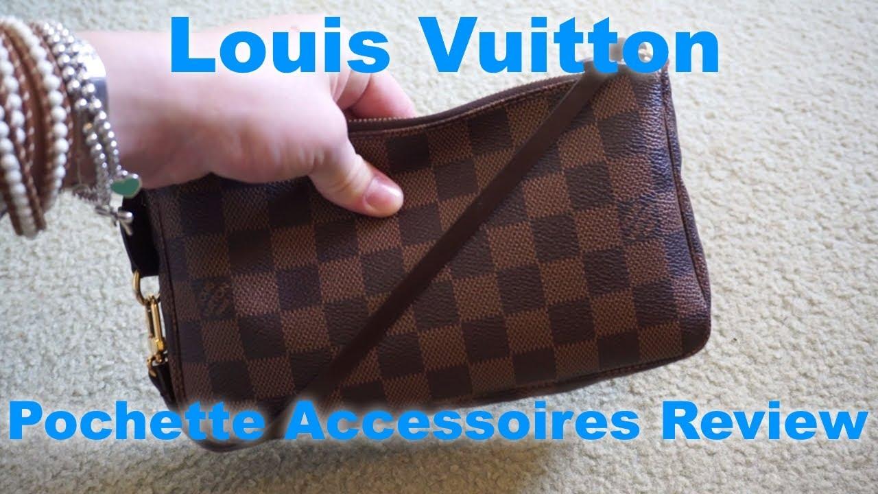 d79ea1f2a0 Louis Vuitton Pochette Accessoires Damier Ebene ~ Review & Contents