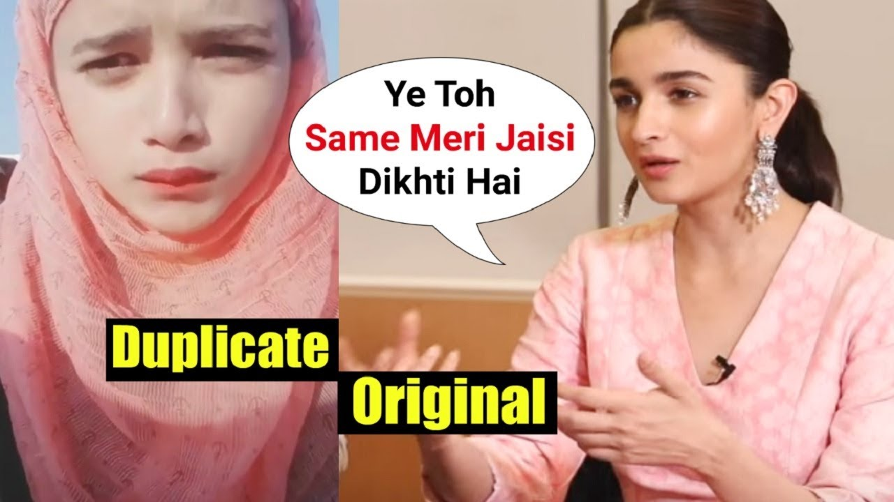 Alia Bhatt Duplicate Girl From Gully Boy Will Shock You Youtube Unbelievable duplicates of famous celebrities that will blow your mind !! alia bhatt duplicate girl from gully boy will shock you