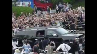 ポールマッカートニー 日本武道館 入りをグッズ販売に並んでいる時に上...