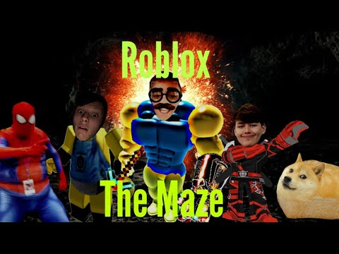 ROBLOX - The Maze Gameplay | Scary Games & Funny Moments | w/Jack n Nathan