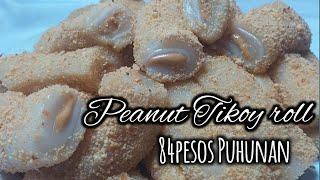 Peanut tikoy roll ( Puhunang 84pesos)