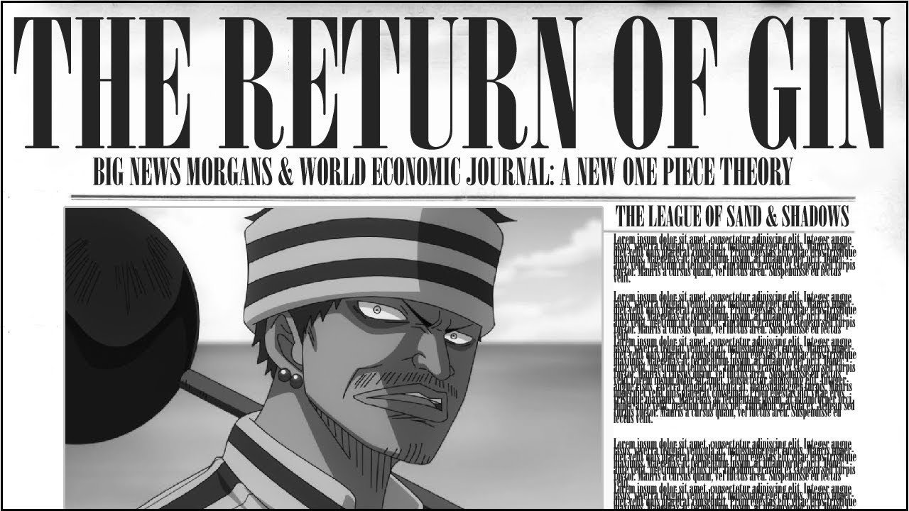 The Return Of Gin Wano Martial Artists One Piece Theory Youtube