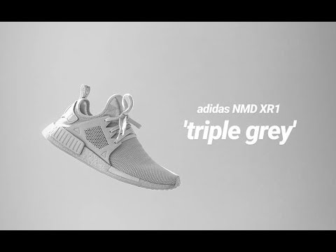 buy online 3a9f0 57f87 adidas NMD XR1 'triple grey' | sneaker review