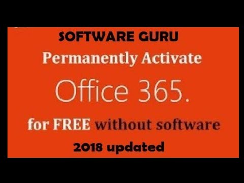 How to permanently activate office 365 for free 2018