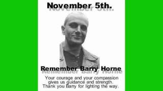 The untold story of Barry Horne