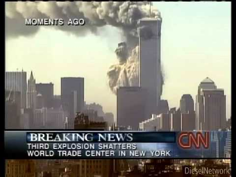 Real CNN 911 Footage un-edited with eye witness accounts