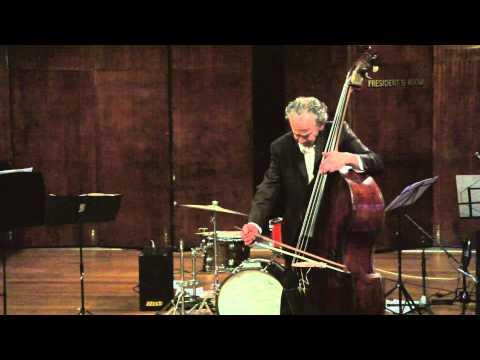 Howard Cairns - bass solo - Harmonetude - bass retuned