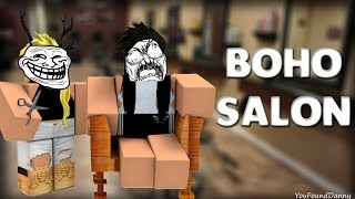 ROBLOX | How to push people in Boho SALON v3