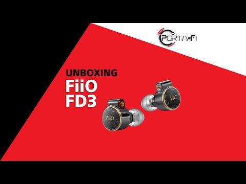 FiiO FD3 Unboxing | Porta-Fi™