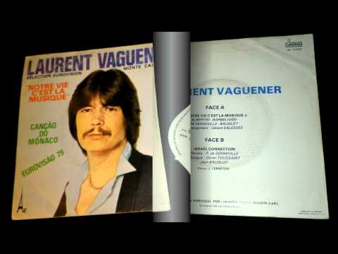 RARE 1979 FRENCH COSMIC DISCO ~ LAURENT VAGUENER - Israel Connection (SAMPLE ONLY)