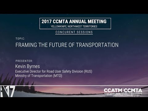 Framing the Future of Transport