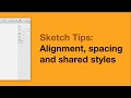 🙅🏻‍♂️ UX Tutorial • Sketch Alignment & Shared Styles