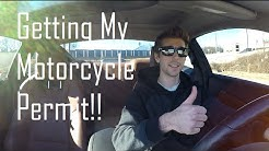 Getting My Motorcycle Permit!