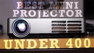 Best Mini Projector Money Can Buy - ICODIS CB 300W 3D Mini Projector £399 - Unboxing and Review (HD)