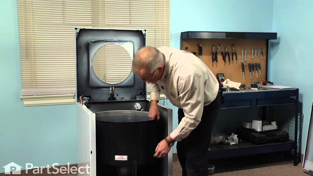 Washing Machine Repair Replacing The Tub Bearing Kit