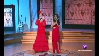 Lorena y Alicia Blazquez- Aqui hay toreros (Bravo por la copla 22-09-2013)