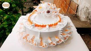 cake decorating bettercreme (488) Học Làm Bánh Kem Gía Rẻ - Cam Sang Trọng (488)
