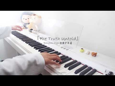 BTS 방탄소년단 | The Truth Untold | Piano Cover