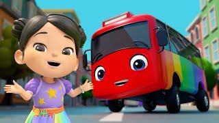 Ten Little Buses   @Lellobee City Farm - Cartoons & Kids Songs   Lellobee
