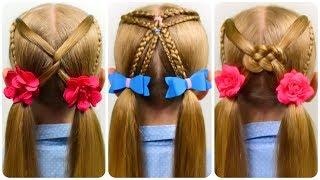 3 Einfache Mützen Helm Frisuren Coole Mädchen Zöpfe