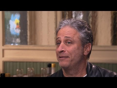 """Jon Stewart takes final bows from """"The Daily Show"""""""
