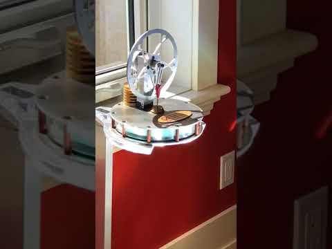 Concentrated solar powered Stirling Engine