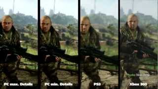 Crysis 3 - PC vs. PS3 vs. Xbox 360