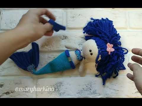 Кукла русалка. Doll Marmead
