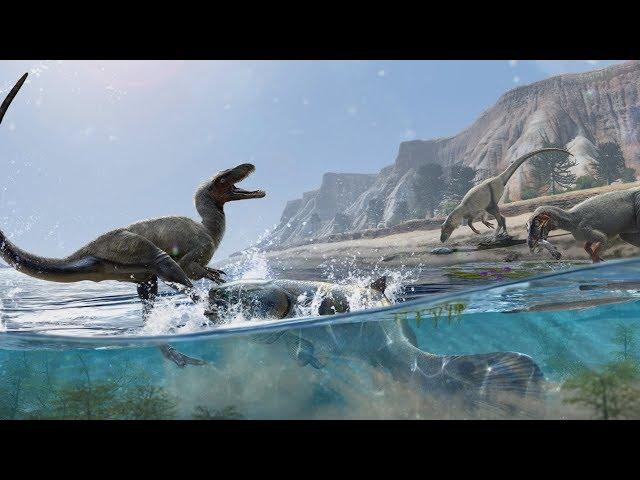 Um ângulo fascinante da pré-história e dos dinossauros