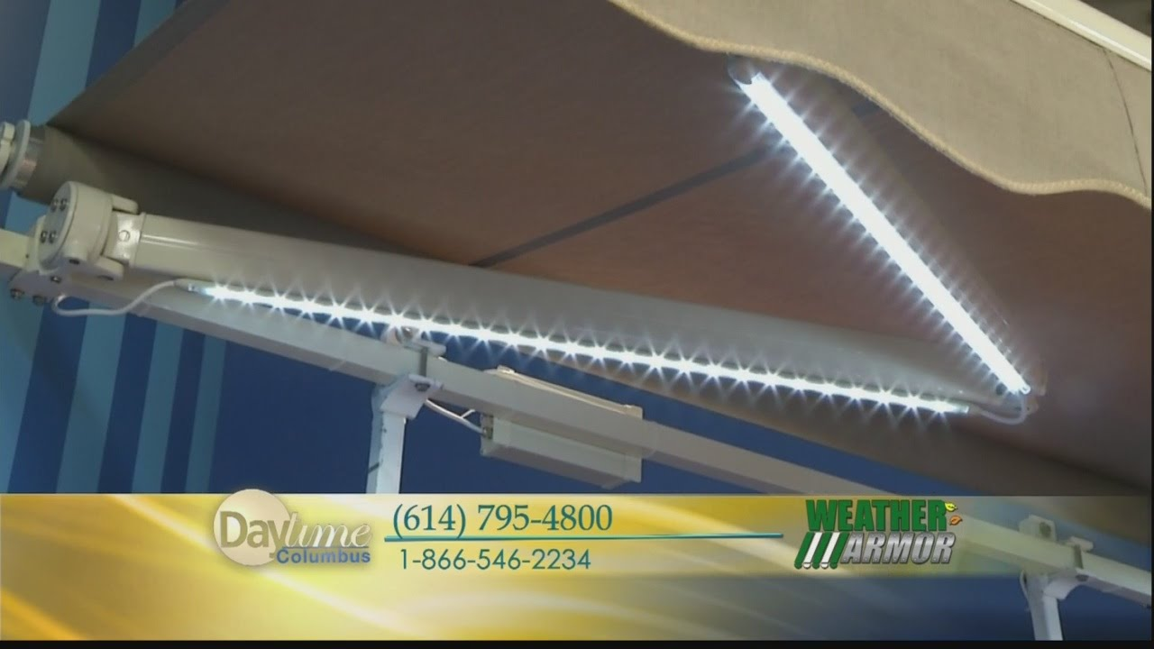 Daytime Weather Armor Retractable Awnings - YouTube