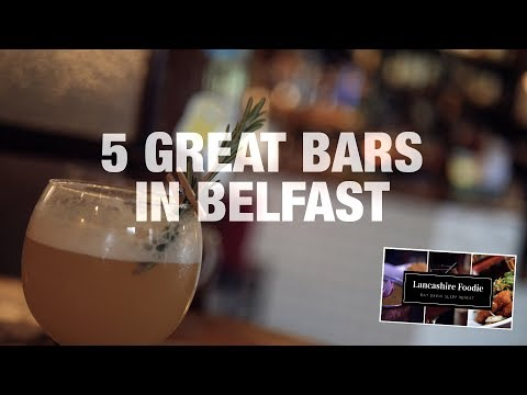 5 Great Bars in Belfast