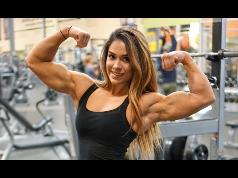 woman bodybuilding model Female