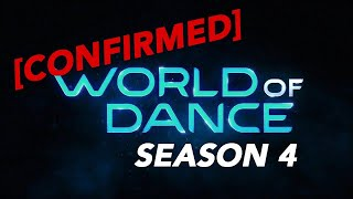 Breaking news! NBC World of Dance Officially Back for Season 4 and Starts Taping Feb 2020!