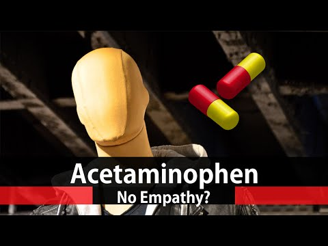 New Acetaminophen Side Effect No Empathy