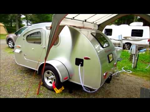 Teardrop Trailer Vistabule 7 Bar Harbor  Maine
