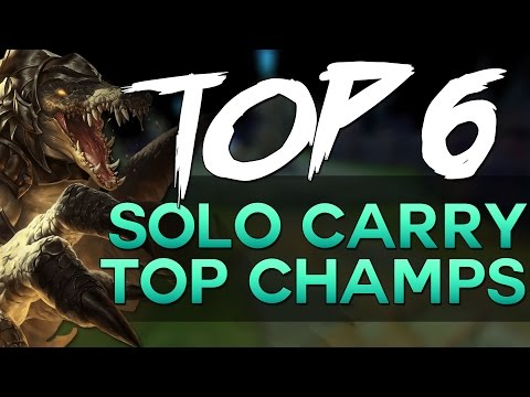 Top 6 Solo Carry Toplaner German - League of Legends [Neue Endcard]
