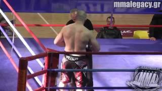 Νέστορας Μπατζέλας vs Borislav Balabanov - Throwdown MMA - 110kg Superfight HD